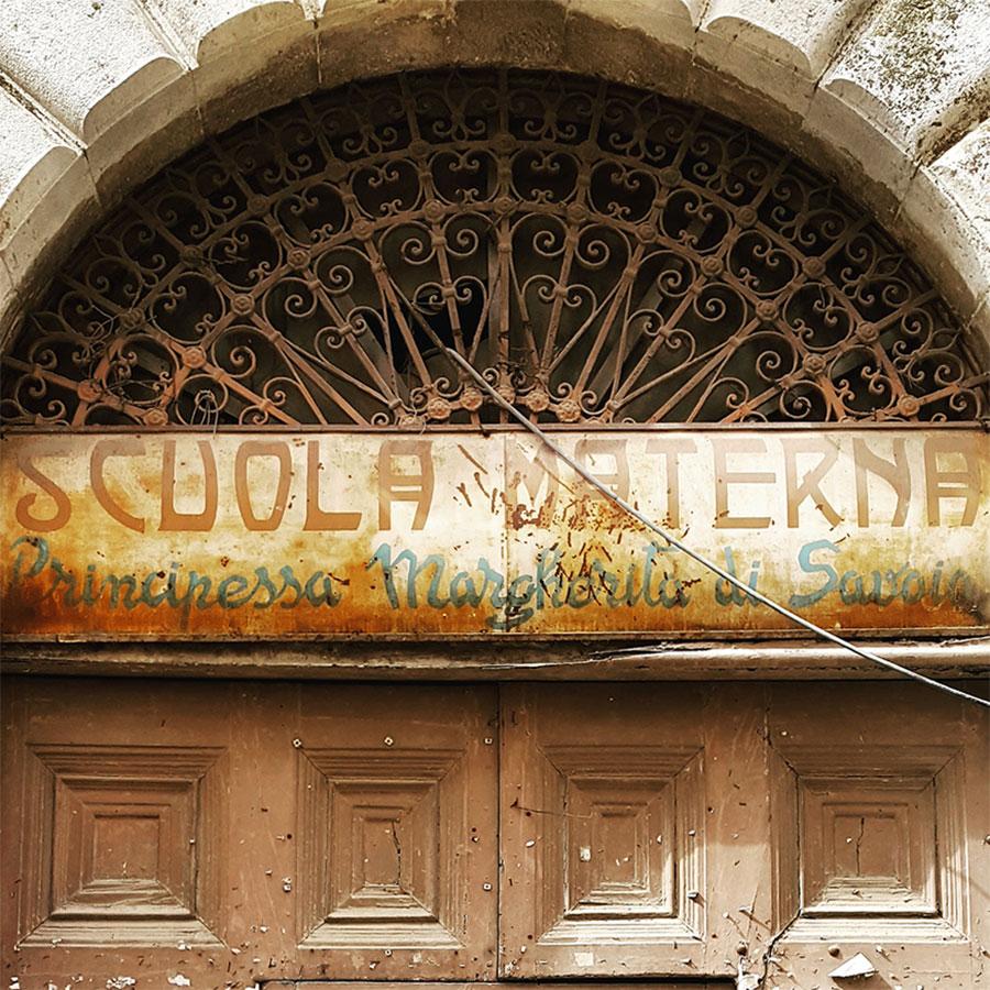 Letters from Puglia_Altamura (BA), Scuola materna, Monastero del Soccorso_Futuro Arcaico