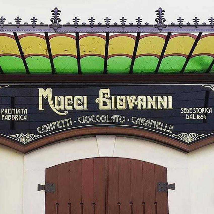 Letters from Puglia_Andria (BAT), Mucci Giovanni Confetteria_Futuro Arcaico
