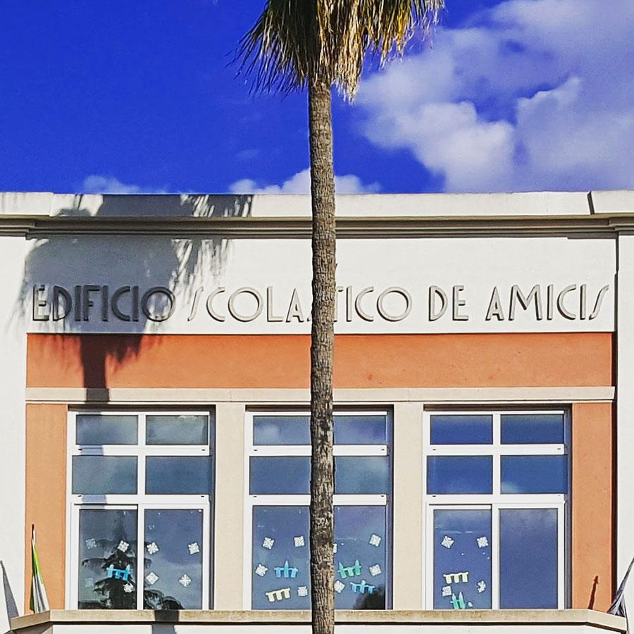 Letters from Puglia_Modugno (BA), Edificio Scolastico De Amicis_Futuro Arcaico