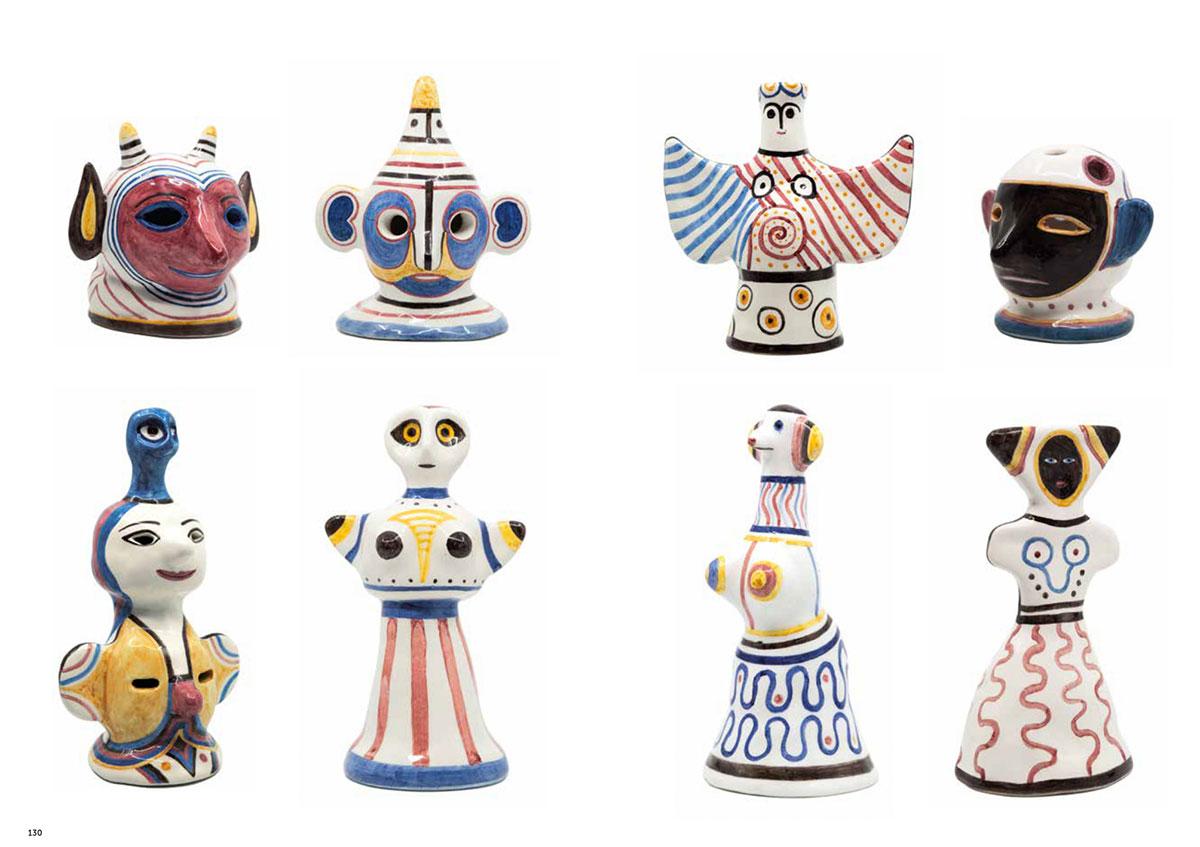 Ceramiche, 2018 — ABC-DEM — DEM — Futuro Arcaico Archivio