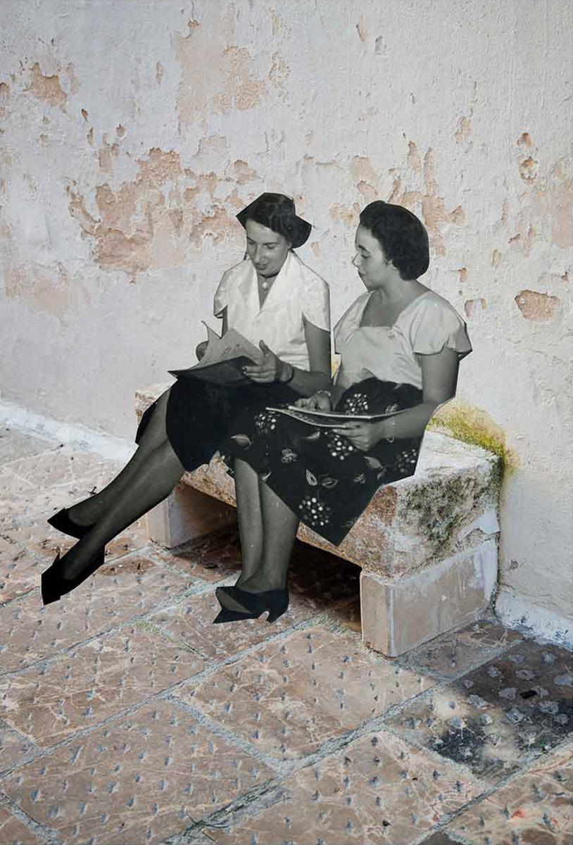 RaYo — Re-cordis Collage — Futuro Arcaico Archivio