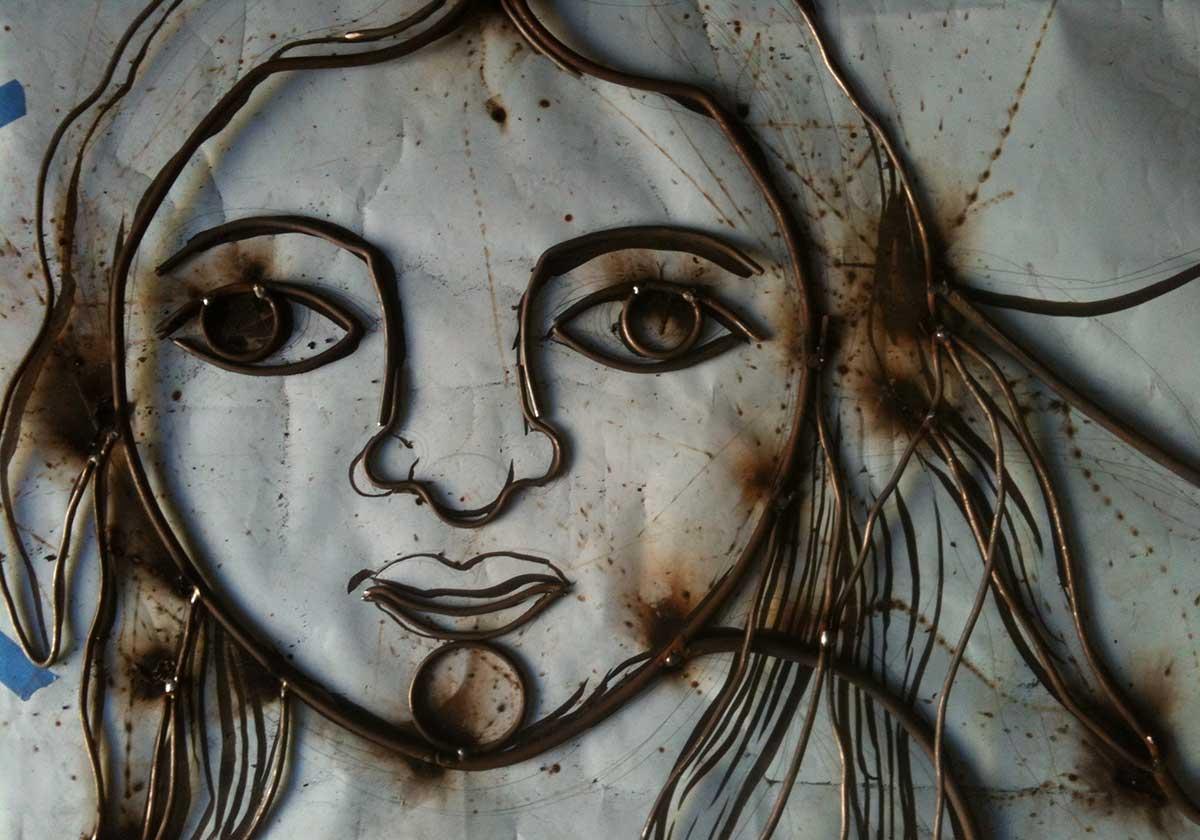 Allegra Ferox — Il Fuoco, è dall'inizio — Futuro Arcaico Archivio