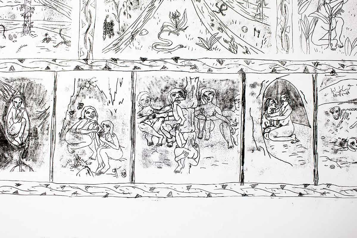 Greta Chiaravalle — Al lago e alla memoria — Futuro Arcaico Archivio