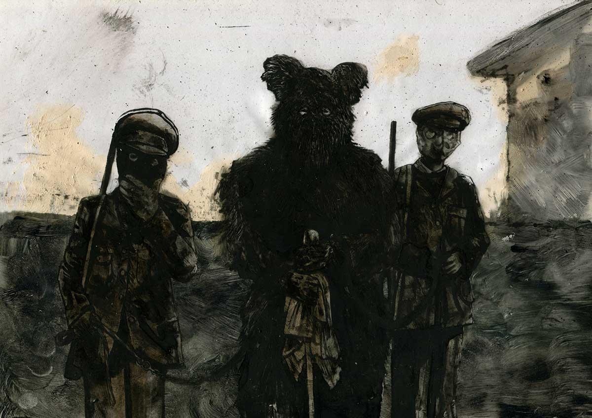 Omar Cheikh — L'Orso — Futuro Arcaico Archivio