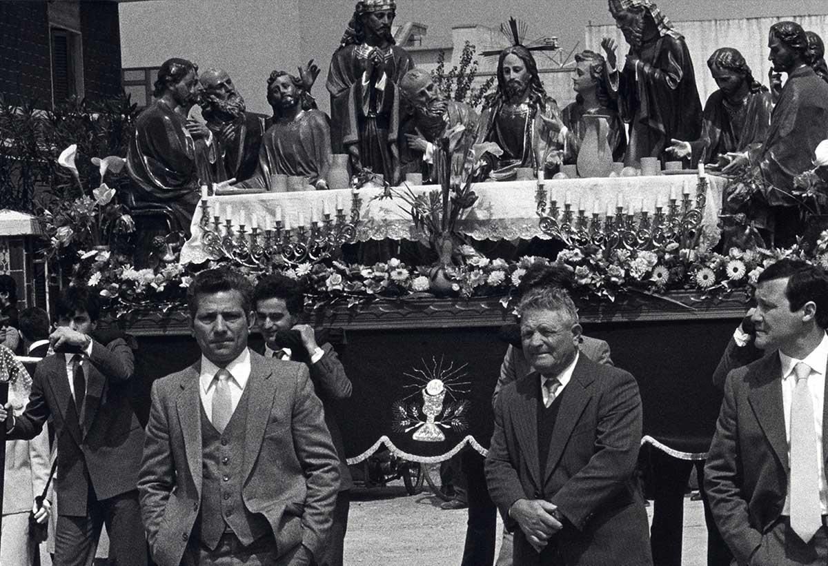 Settimana Santa in Puglia — Onofrio Mancini — Futuro Arcaico Archivio_1984